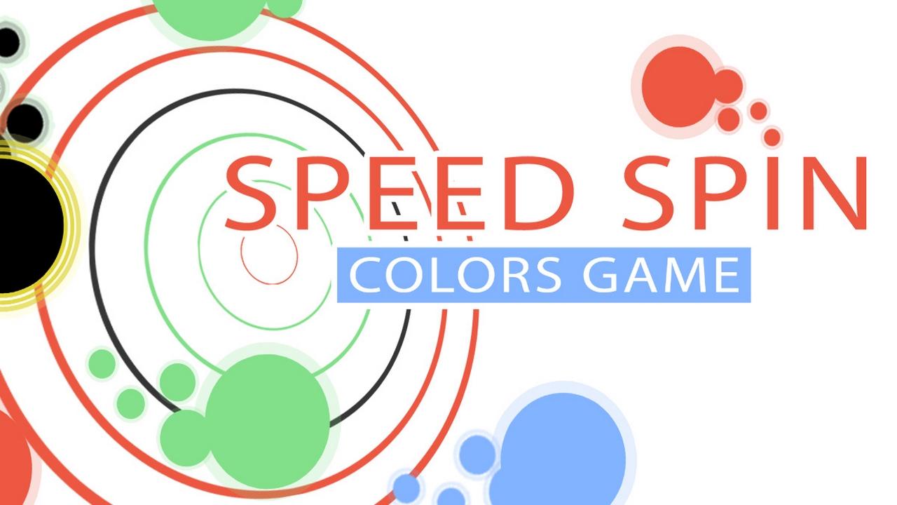 Hızlı Dönen Renkler - Speed Spin Colors