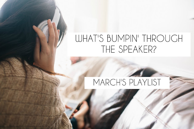 march playlist just bloggers no explanation