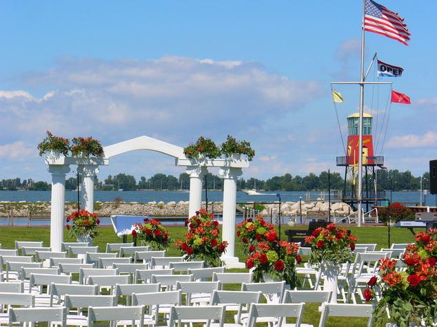 Marblehead Wedding Venues Lyman Harbor Sandusky OH