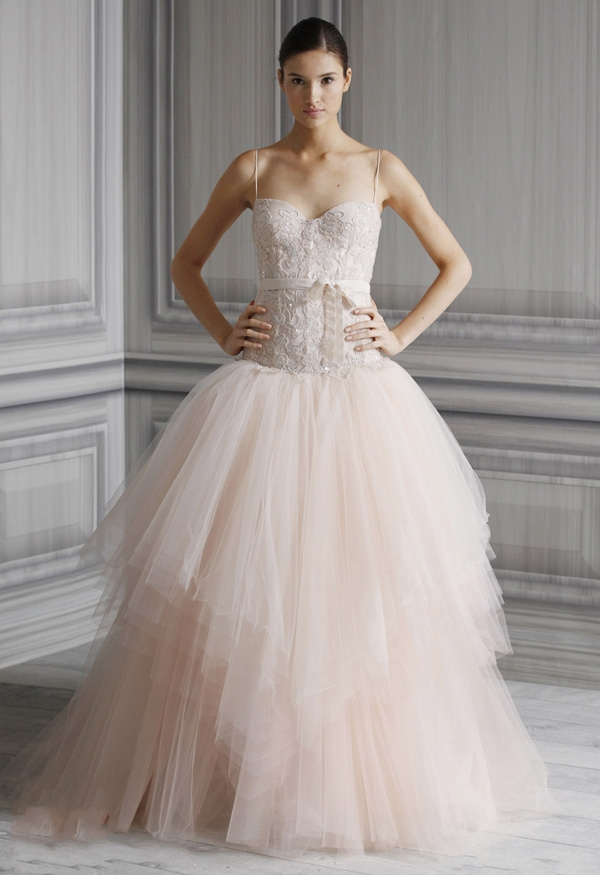 Monique Lhuillier Wedding Dresses Spring 2012 Bridal Collection