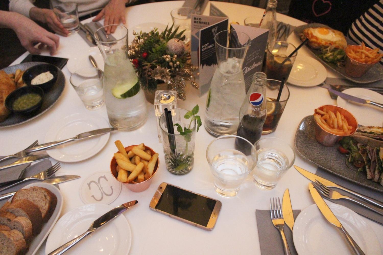corinthian glasgow menu