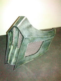 Proses pembuatan masker noob saibot