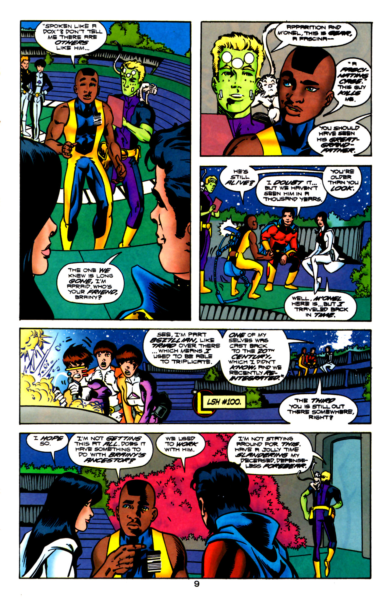 Legion of Super-Heroes (1989) 119 Page 8
