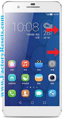 master-reset-Huawei Ascend G628