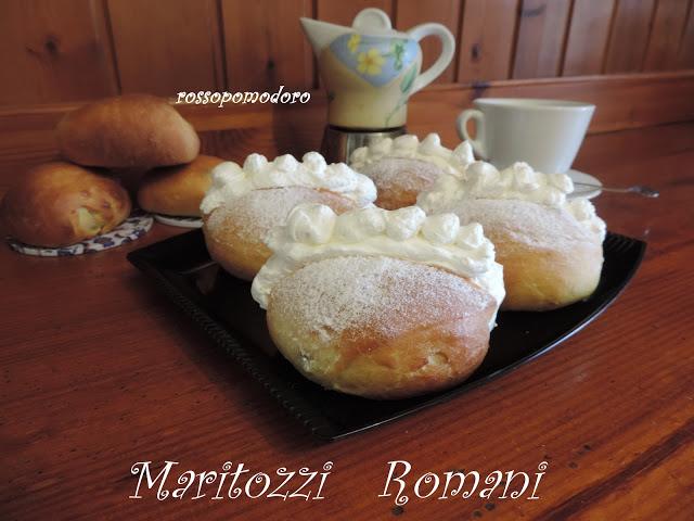 Fotografia della ricetta I maritozzi di Fabiola Falgone del blog Rossopomodoro