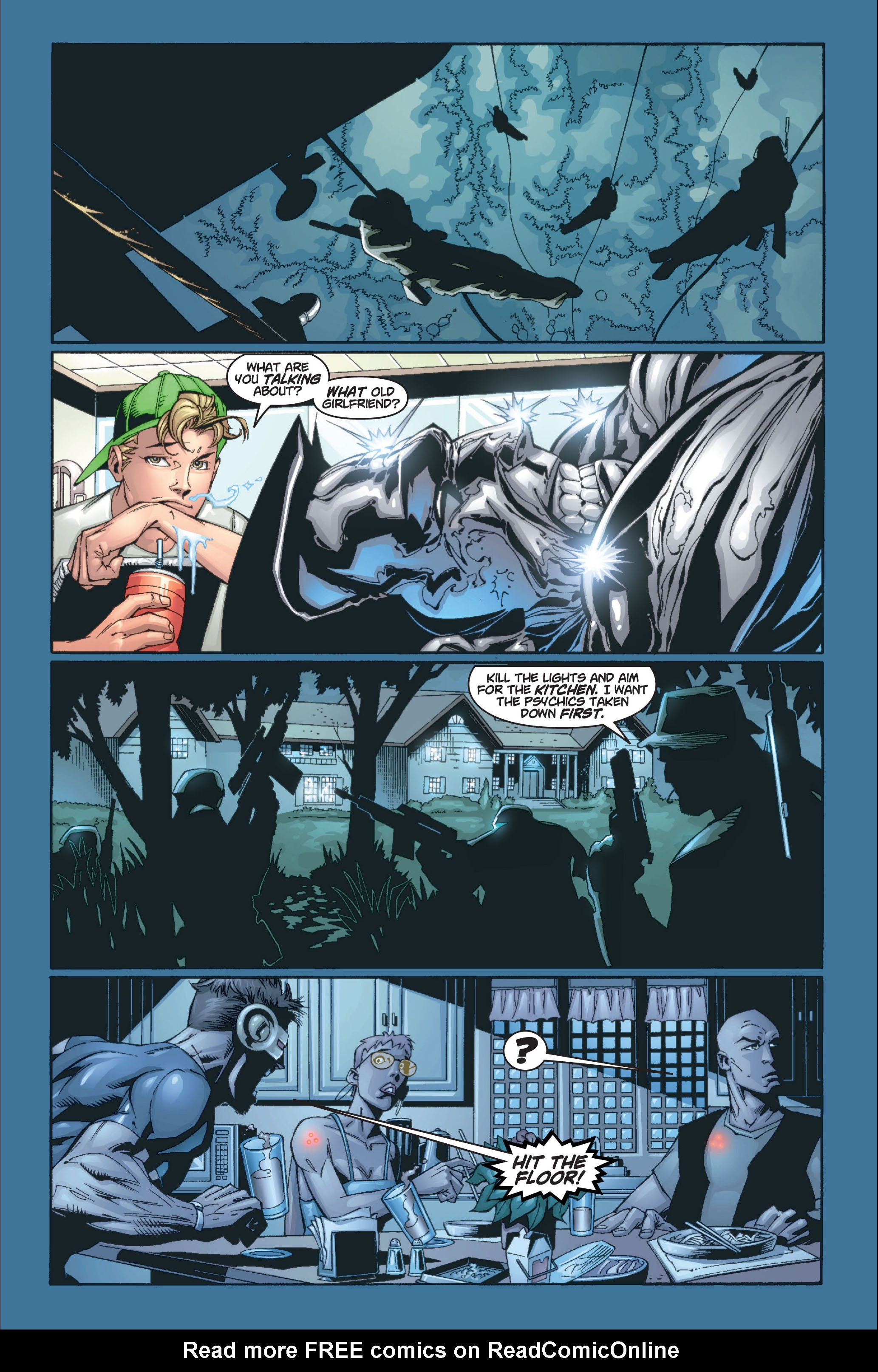 Read online Ultimate X-Men comic -  Issue #8 - 14