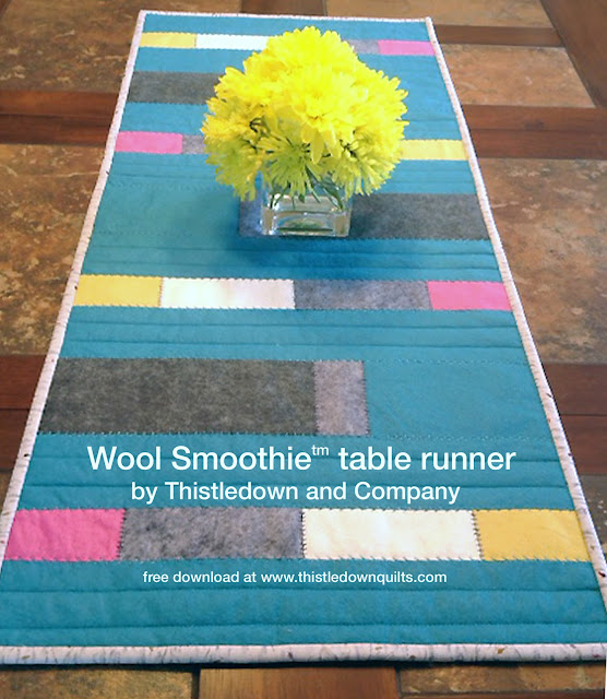 Table runner by Thistledown and Company