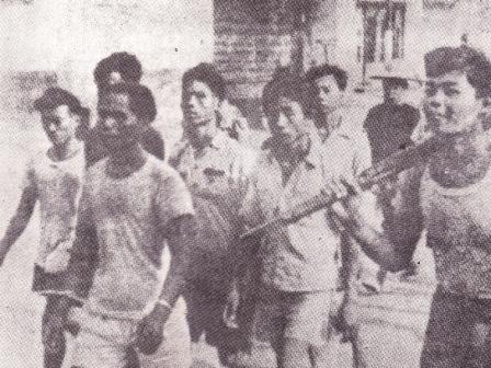 anggota gerombolan pemberontak PKI Madiun
