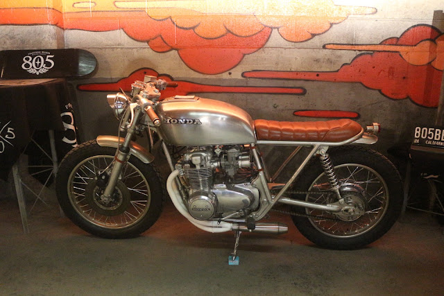 custom build honda cb motorcycle at the one moto show number 9