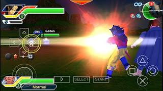 Dragon Ball Z Tenkaichi Tag Team PPSSPP ISO Highly Compressed For Android Full