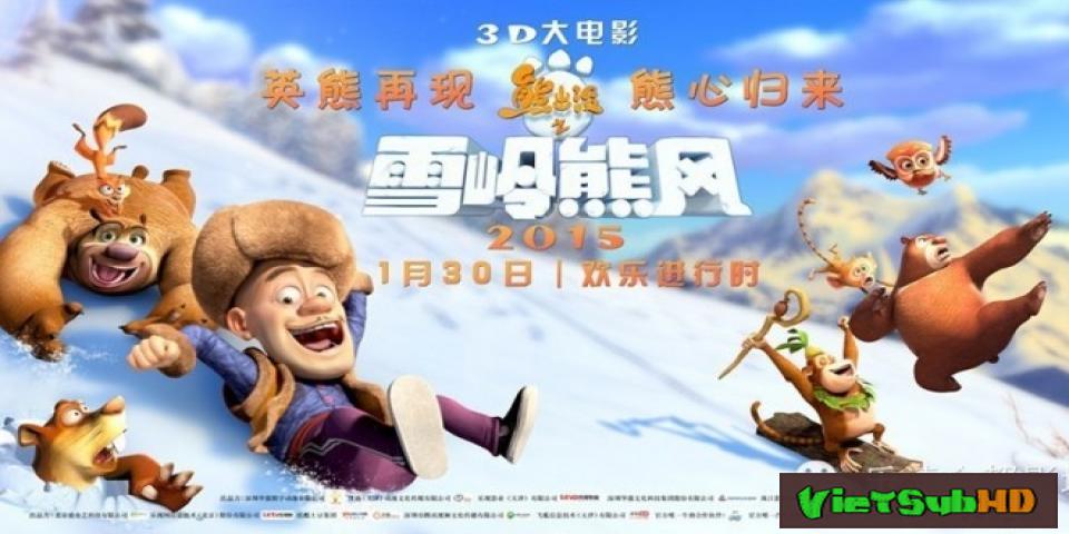 Phim Gấu Boonie 2: Gấu Bự Núi Tuyết VietSub HD | Boonie Bears: Mystical Winter 2015