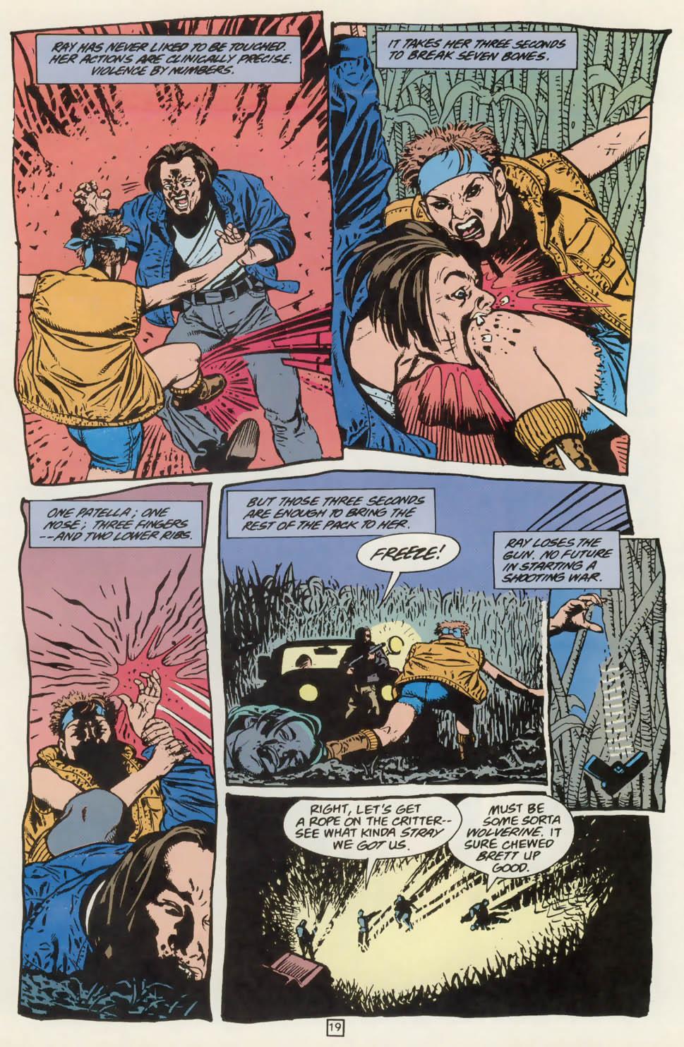 Read online Animal Man (1988) comic -  Issue #76 - 20