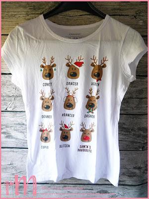 Stampin' Up! rosa Mädchen Kulmbach: Christmas T-Shirt
