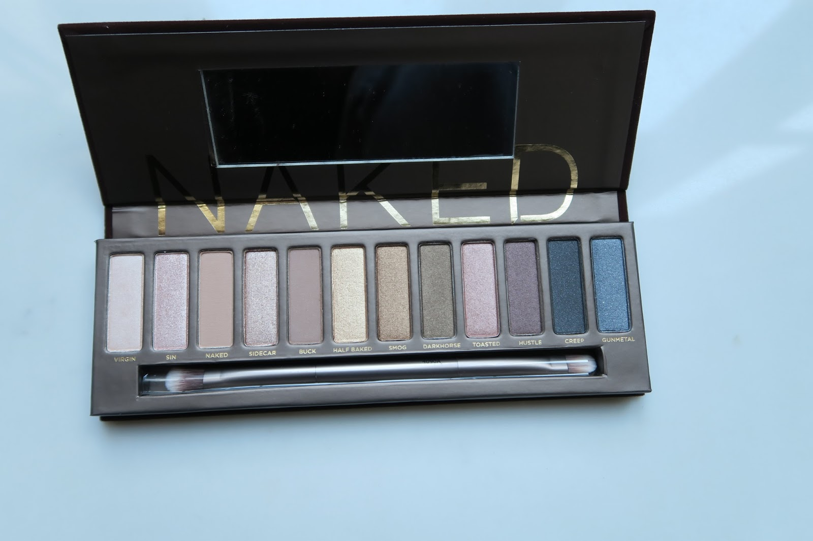 Urban Decay Naked Palette open
