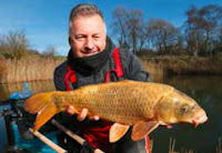 Mark Sawyer's first carp of 2018