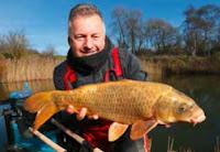 Mark Sawyer's first carp of 2018