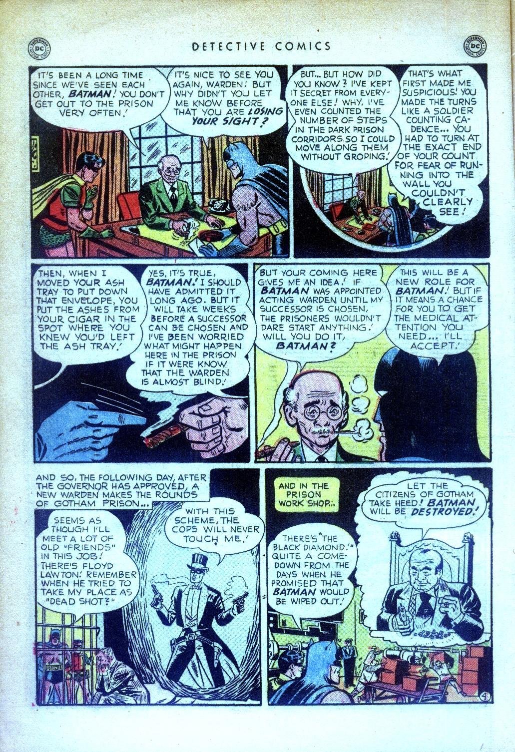Read online Detective Comics (1937) comic -  Issue #169 - 6