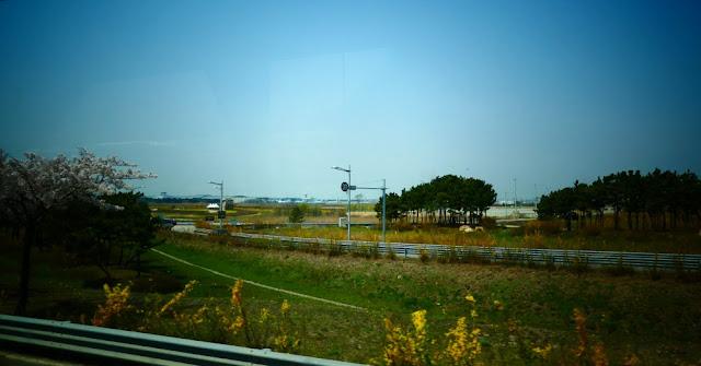Fahrt zum Flughafen Incheon