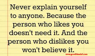 dislike person