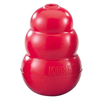 tough toys: KONG Classic Dog Toy – Medium, Red – £4.49 amazon