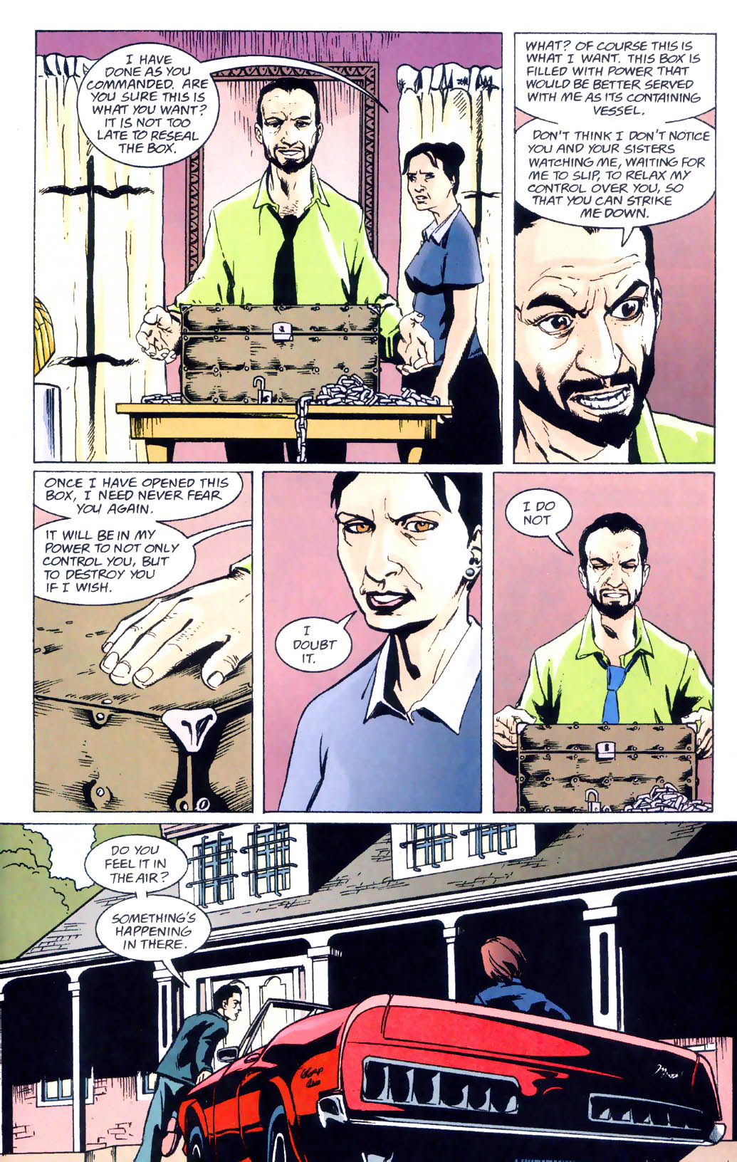 Read online Midnight, Mass comic -  Issue #6 - 15