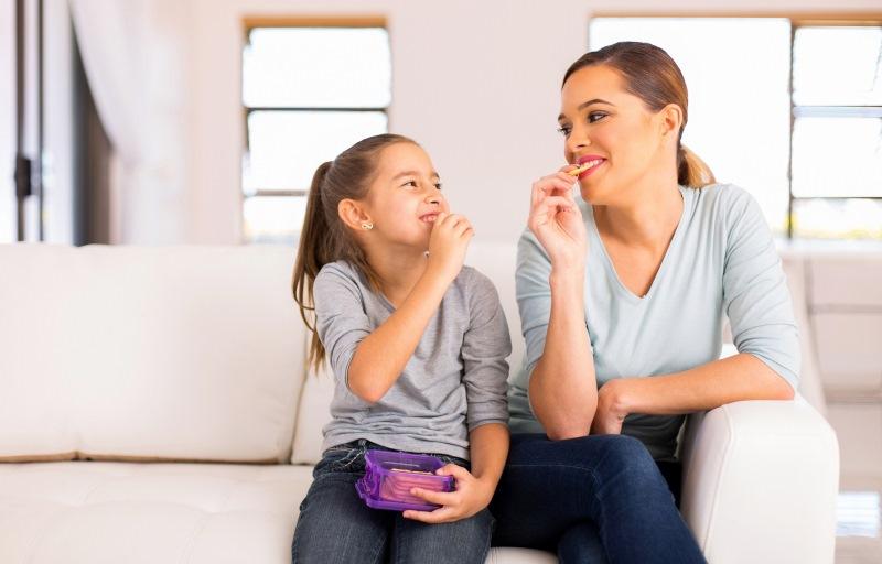 Çocuklara 8 sağlıklı atıştırmalık