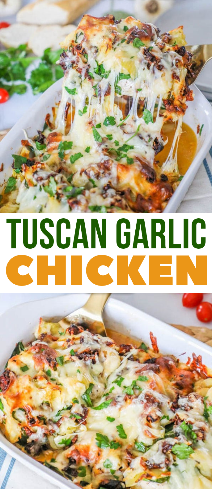Tuscan Garlic Chicken #familyrecipe #dinner