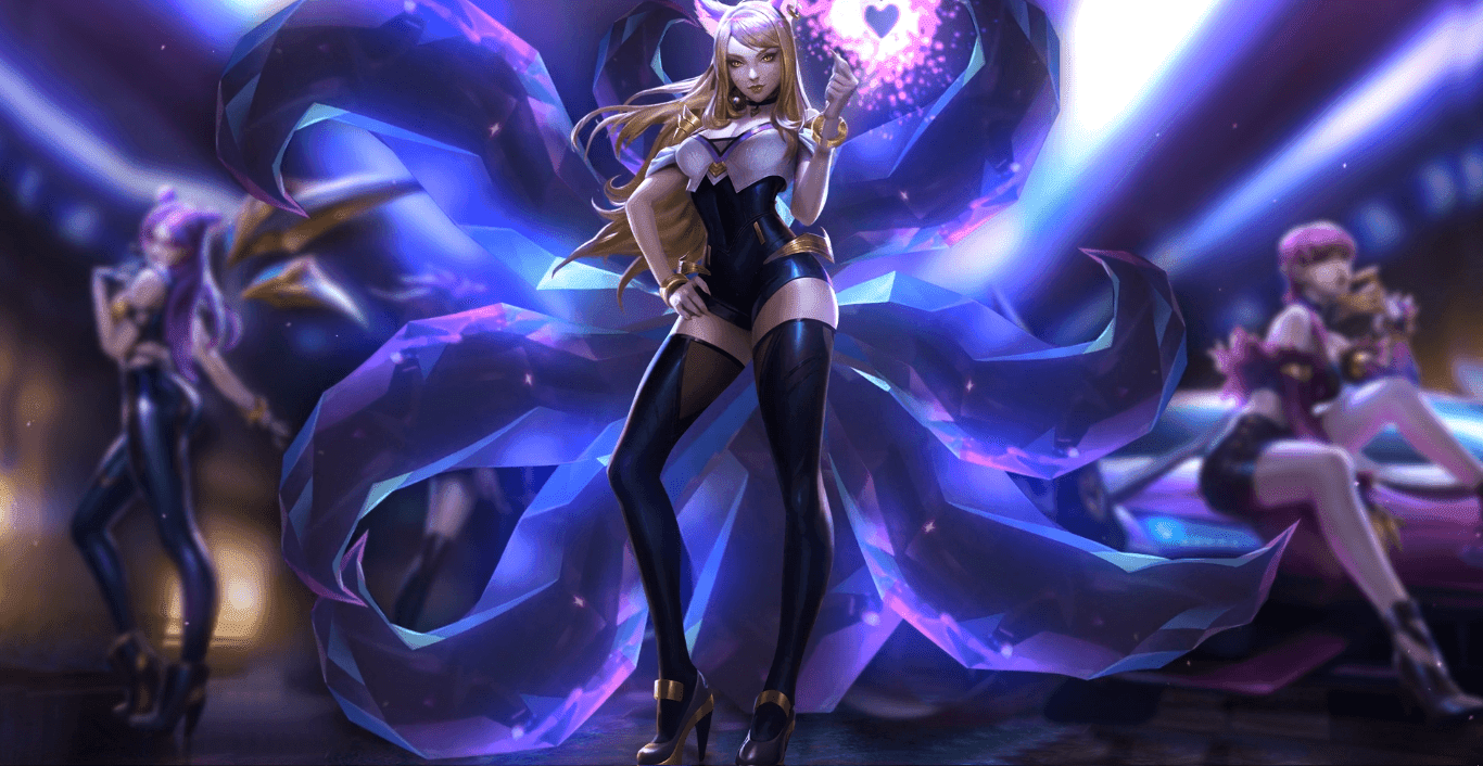 K/DA Racoon 阿狸 - Ahri [Wallpaper Engine Free]