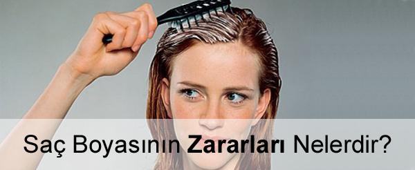 Saç Boyasının Zararları Nelerdir?
