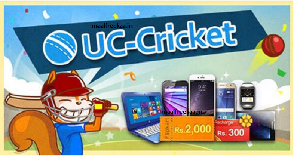 Contest !! UC Cricket Play Win Free iPhone6 Laptop MotoG Smartwatch