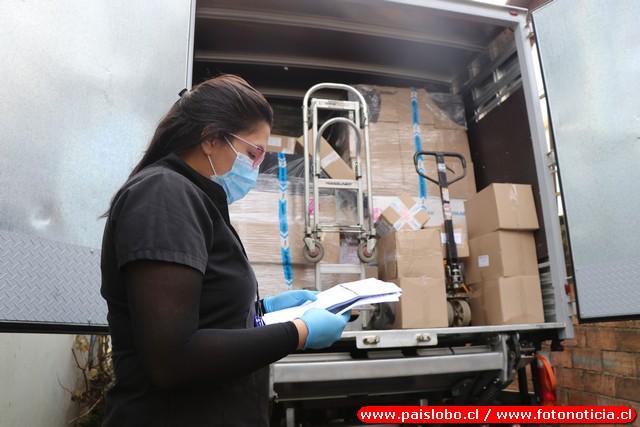 Osorno: Llega nuevo stock de elementos de protección personal