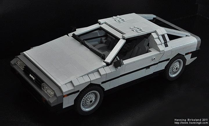 An Extension To Grrr S Mind A Lego Delorean
