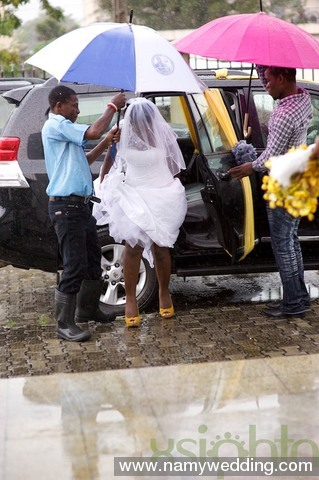 Pictures From Obiwon's Church Wedding & Reception. 4