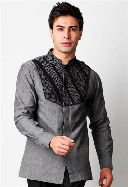 Model baju muslim pria lengan panjang terbaru untuk lebaran 2017/2018
