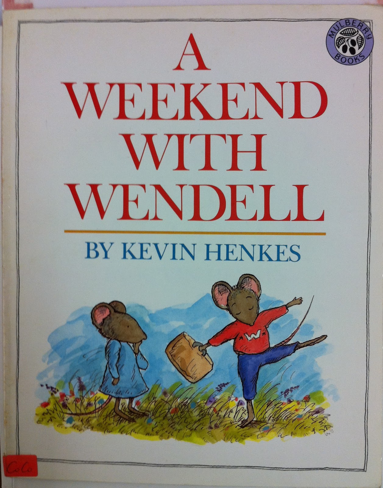 Picturebooks Everyday A Weekend With Wendell