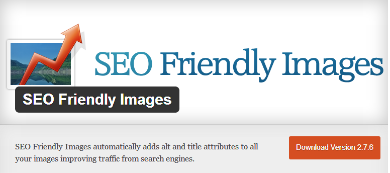 WordPress SEO plugins - SEO friendly Images