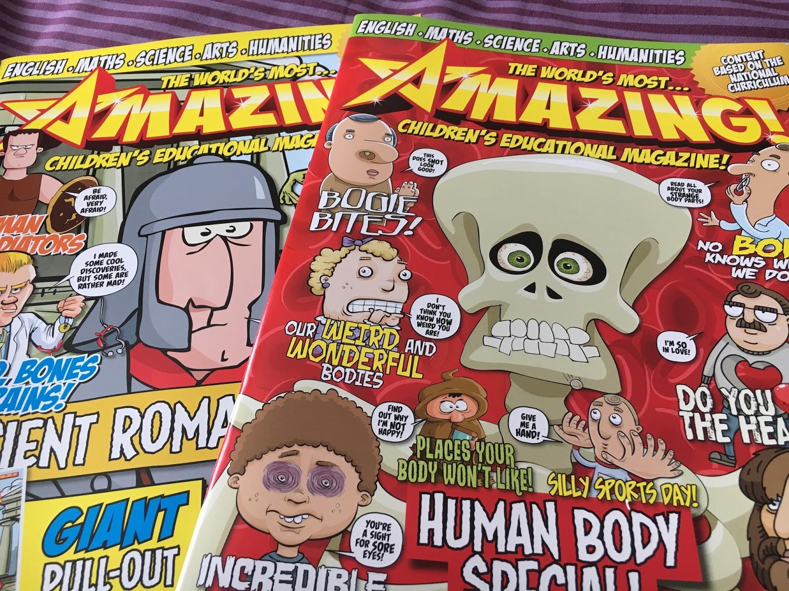 Amazing Kids Magazine   Hello Wanderer UK