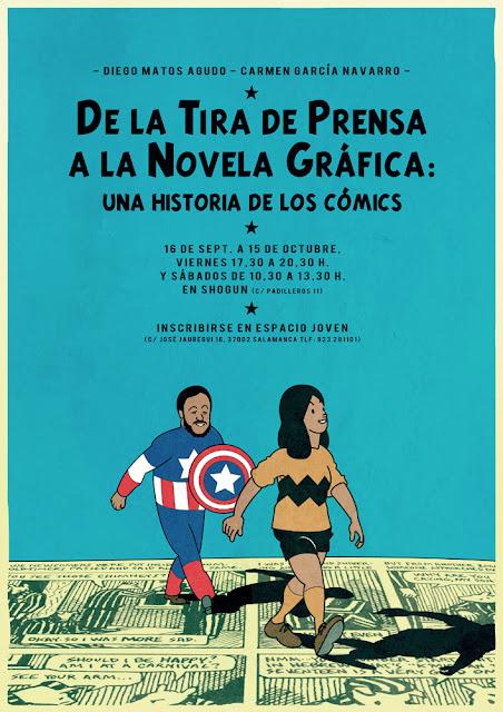 """En el curso """"De la tira de prensa a la novela gráfica  Una historia ... 3ec16e96584"""