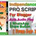 Indipendance Day Pro Wishing Script [ FREE ] | MobGyan