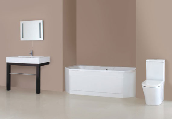 For Relaxation In The Bathroom With Modern Interior Suites