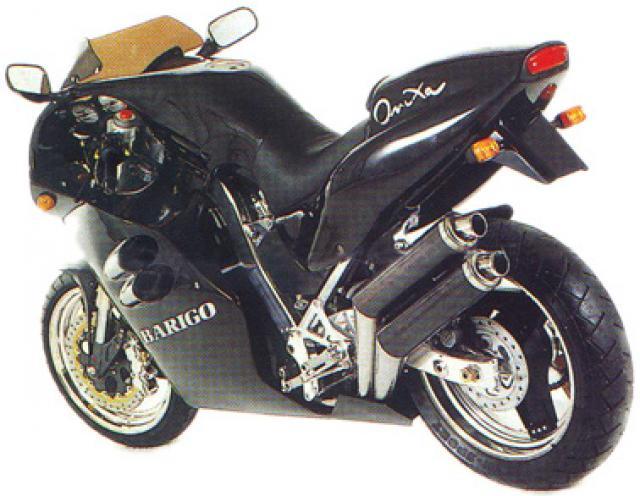 Barigo Onixa 600 supermono motorcycle prototype