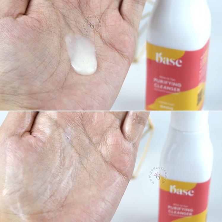 Tekstur base purifying cleanser