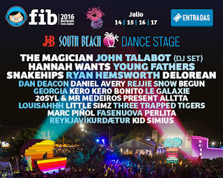 FIB, 2016, Benicassim, Festival, Música, J&B, South Beach, Dance, Stage