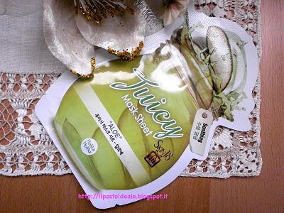 Skin18.com: Juicy Mask Sheet Aloe Holika Holika