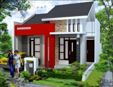 oh ini model atap rumah type 36