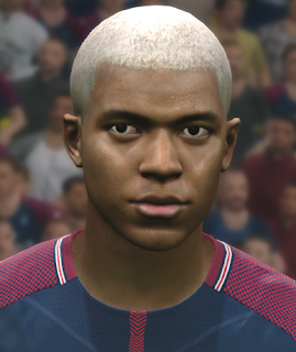 PES 2017 Faces Kylian Mbappe by WER Facemaker