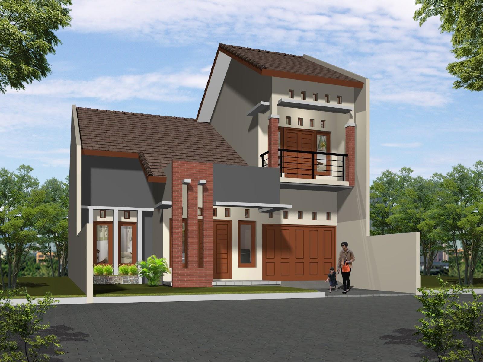 Rumah Type minimalis Dengan Bata expose