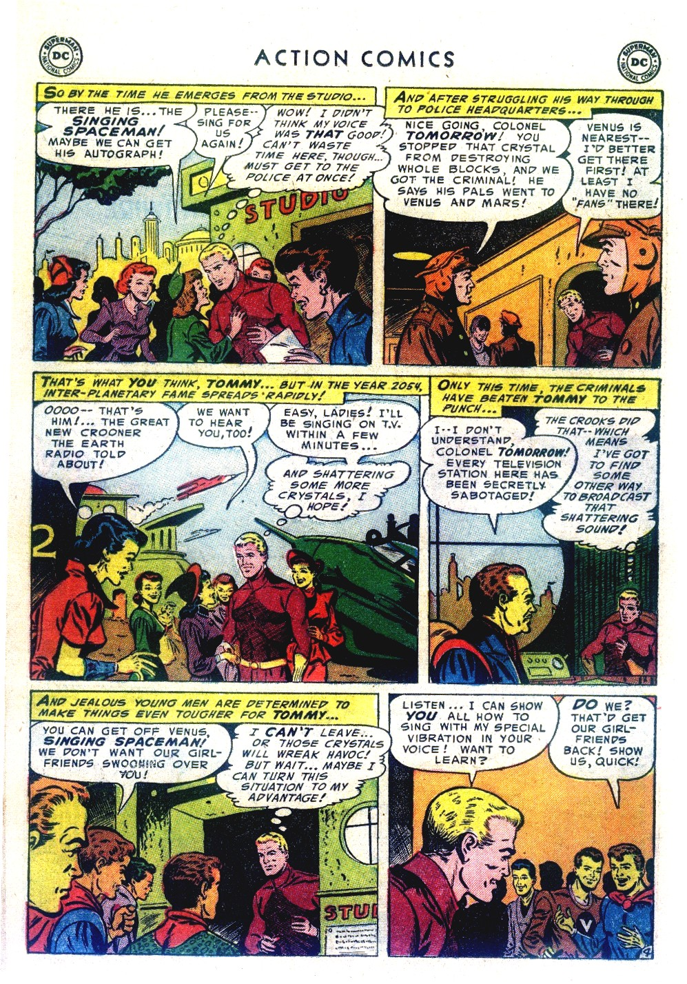 Read online Action Comics (1938) comic -  Issue #192 - 28