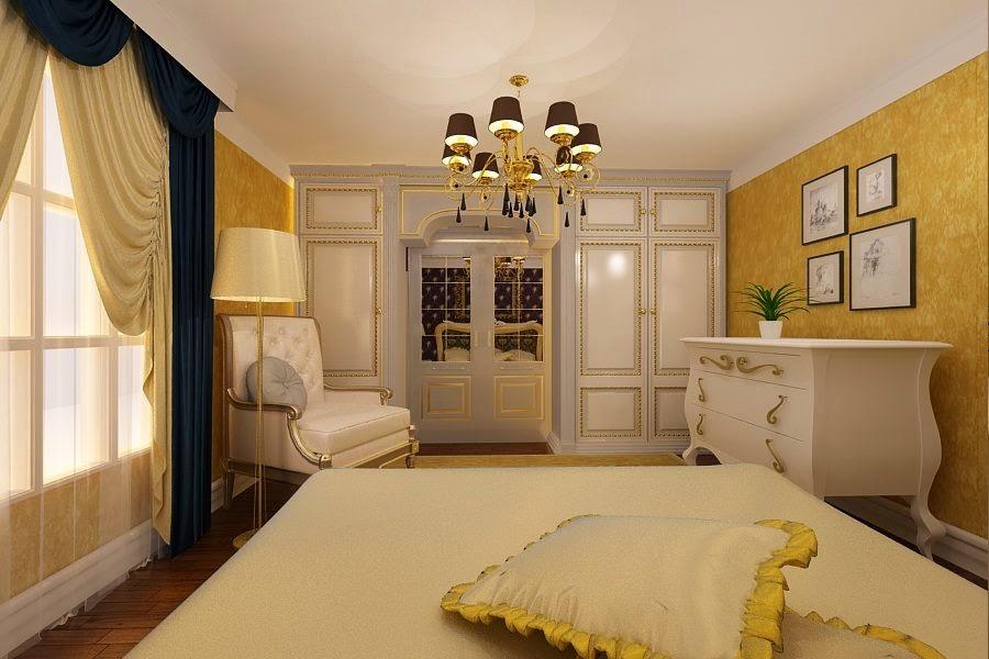 Amenajare dormitor casa stil clasic Bucuresti - Amenajari interioare case clasice Bucuresti | amenajare casa clasica, amenajare casa de lux, amenajari interioare Bucuresti, Primaverii