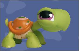 LPS Turtle Figures